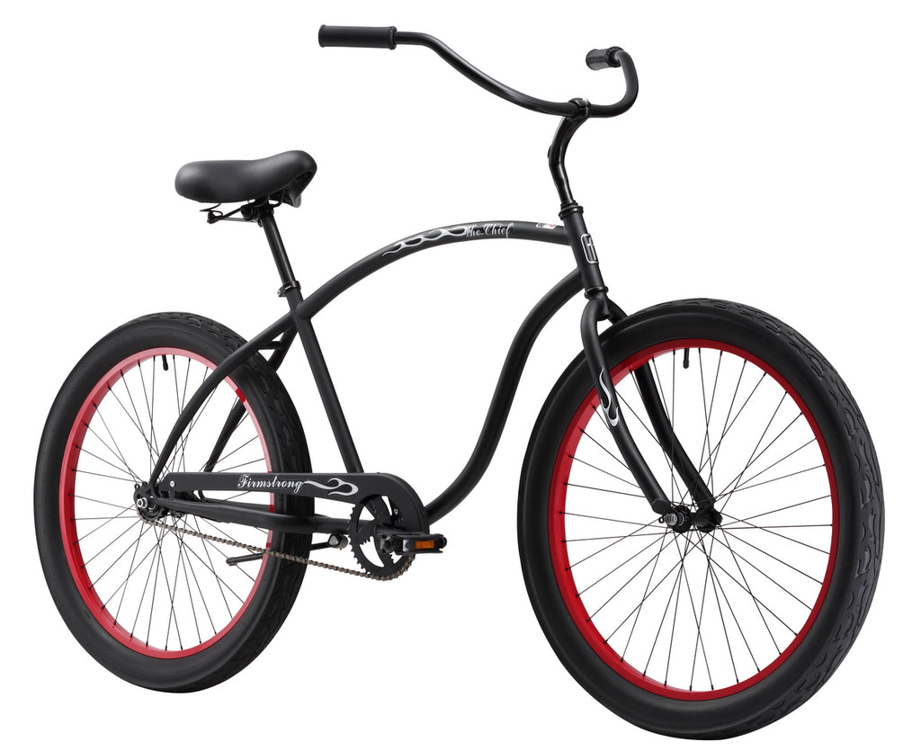 "Firmstrong Chief 3.0 Single Speed - Men's 26"" Beach Cruiser Bike"