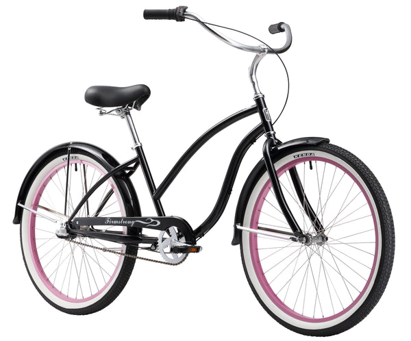 "Firmstrong Chief Lady 3 Speed - Women's 26"" Beach Cruiser Bike"