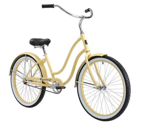 "Firmstrong Siren Lady Single Speed - Women's 26"" Beach Cruiser Bike"
