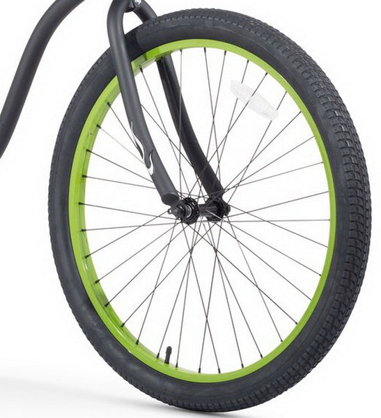 "26"" x 2.125"" Black Tire (Inner Tube, Fork, Wheel are NOT included)"