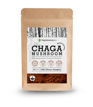 Chaga Cryogenically Ground Powder