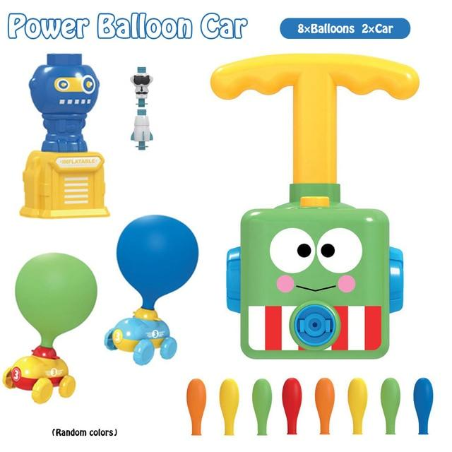 2 in 1 Balloon Launcher & Car Toy - Premierity