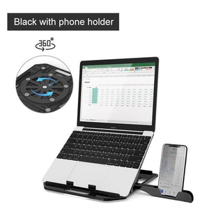 360° Rotatable Laptop & Phone Stand - Premierity
