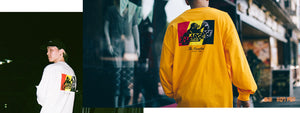 THE HUNDREDS x X-LARGE LOOKBOOK