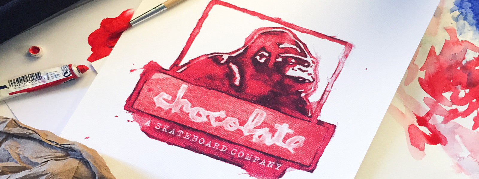 Chocolate Skateboards & XLarge Clothing