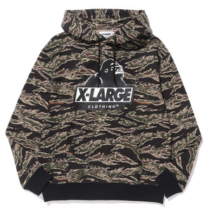 TIGER CAMO PULLOVER HOODIE