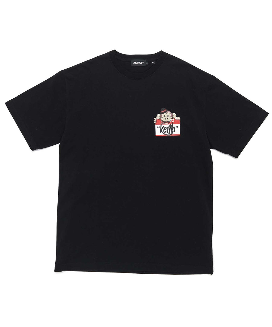S/S TEE KEITH STICKER T-SHIRT XLARGE