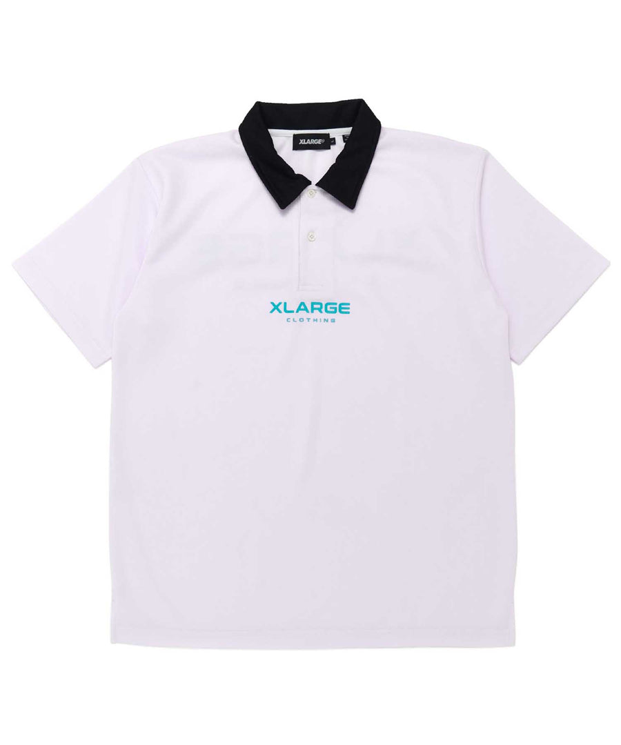S/S SPORTS LOGO POLO SHIRT KNITS XLARGE