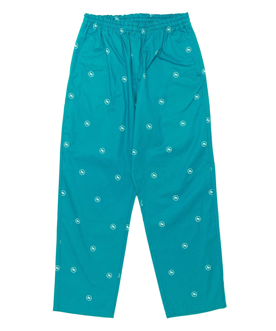 ALLOVER PRINTED LIGHT EASY TYPE PANT BOTTOMS XLARGE
