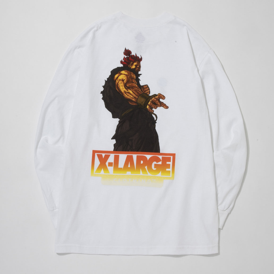 STREET FIGHTER ALPHA AKUMA LS TEE