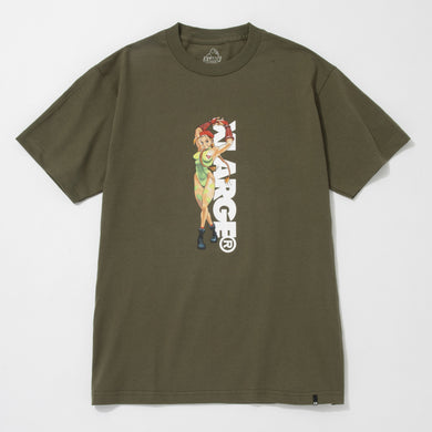 STREET FIGHTER ALPHA CAMMY SS TEE T-SHIRT XLARGE