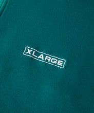 Load image into Gallery viewer, BIG LOGO HALF ZIP SWEAT FLEECE, CREWNECK, HOODIE XLARGE