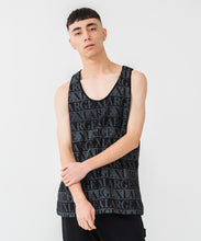 Load image into Gallery viewer, TEXT LOGO TANK TOP KNITS XLARGE