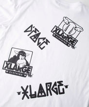 Load image into Gallery viewer, XLARGE x D*FACE L/S BIG RANDOM PRINT POCKET TEE T-SHIRT XLARGE