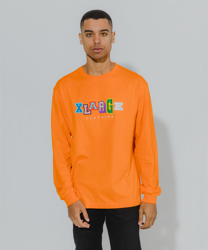 L/S TEE MULTI COLLEGE LOGO T-SHIRT XLARGE