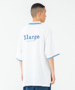 S/S HALF ZIP BIG POLO SHIRT KNITS XLARGE