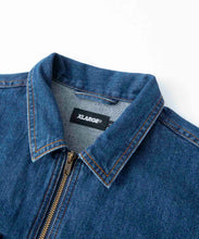 Load image into Gallery viewer, EMBROIDERY ZIPPED DENIM JACKET OUTERWEAR XLARGE