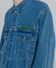 Load image into Gallery viewer, DENIM TRUCKER JACKET OUTERWEAR XLARGE