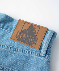 EMBROIDERY DENIM PANTS PANTS XLARGE