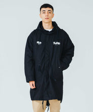Load image into Gallery viewer, XLARGE x D*FACE STRIPE SKULL RENDER M-51 HOODED JACKET OUTERWEAR XLARGE