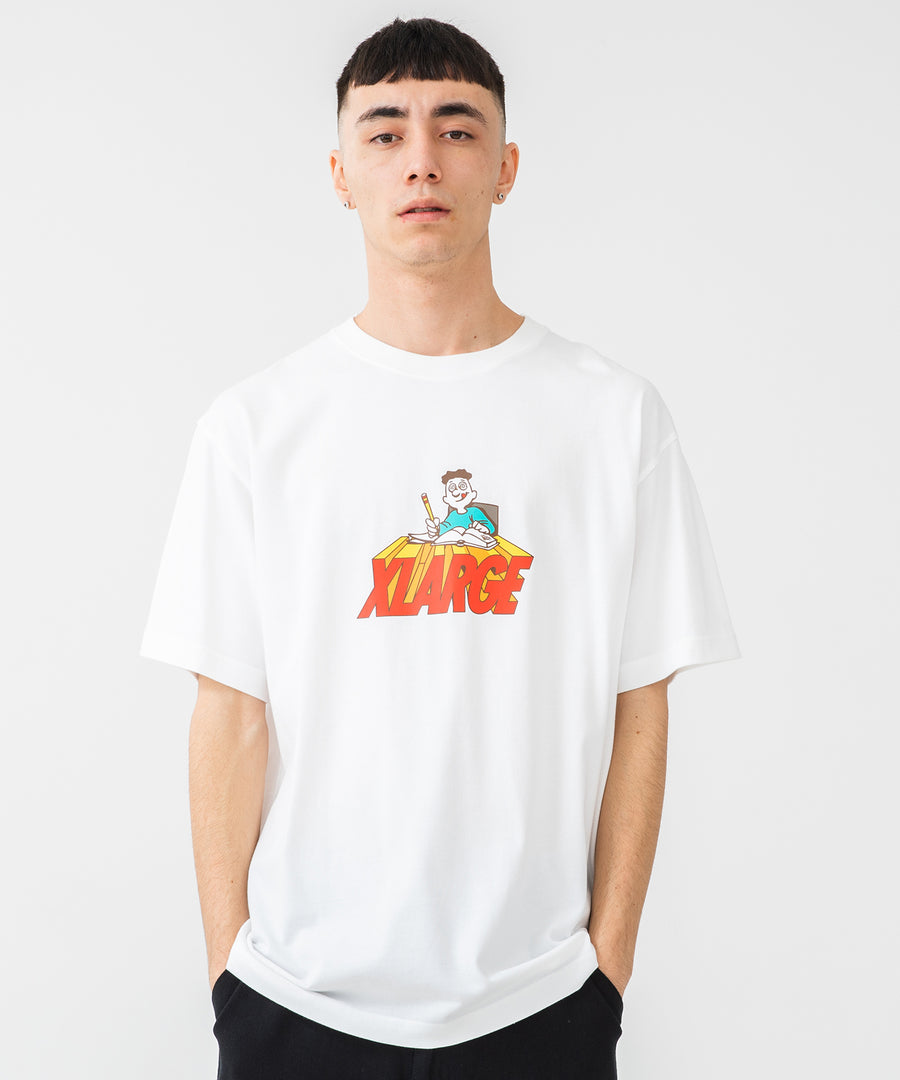 S/S TEE BACK TO SCHOOL T-SHIRT XLARGE