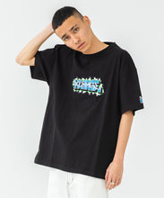 Load image into Gallery viewer, S/S HEAVYWEIGHT TEE EMBROIDERY GRAFFITI T-SHIRT XLARGE