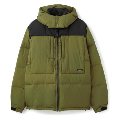 FRONT POCKET HOODED DOWN JACKET OUTERWEAR XLARGE