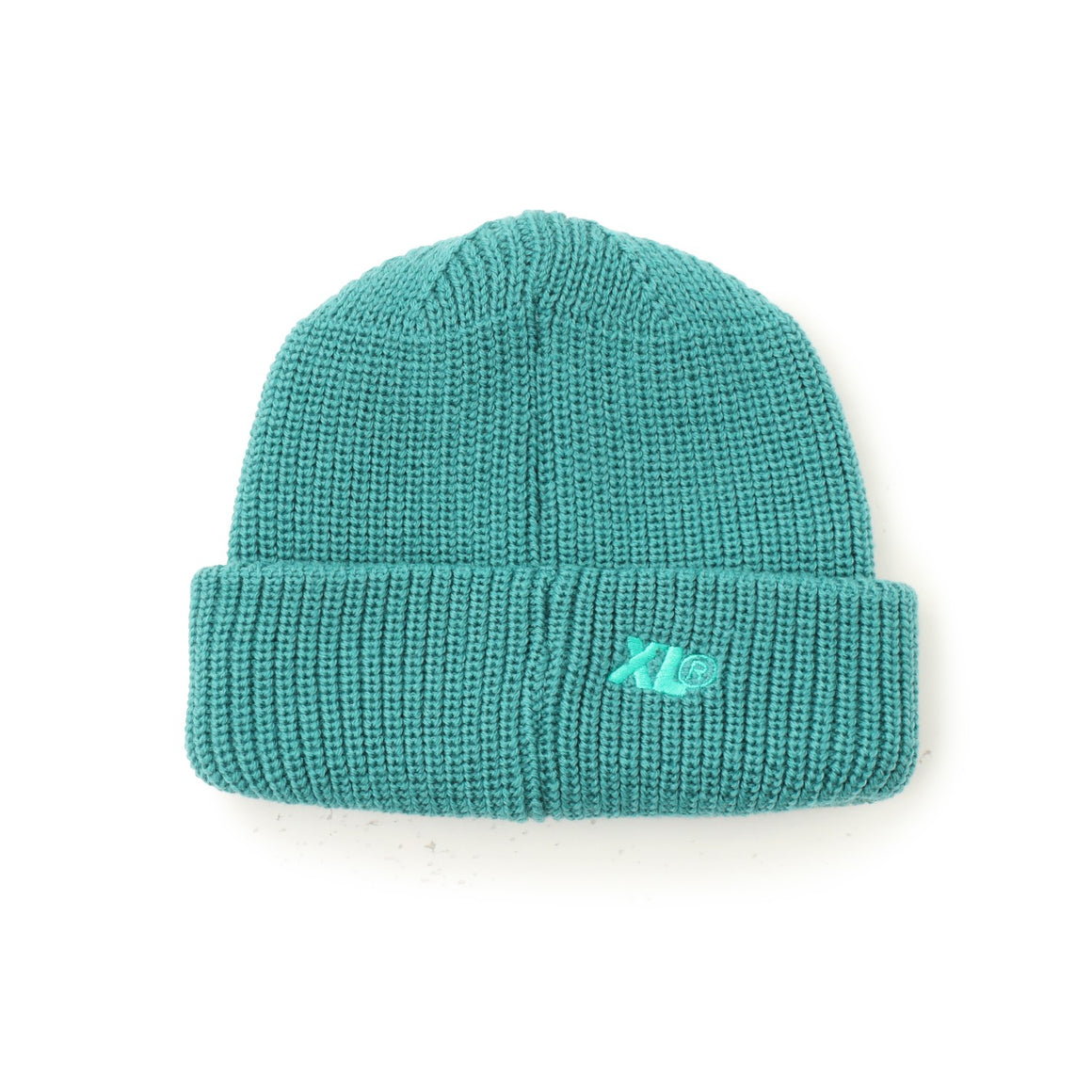 EMBROIDERY SHORT LENGTH CUFF BEANIE