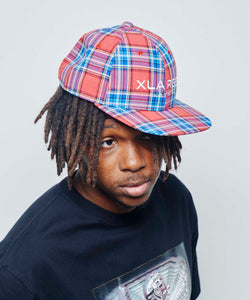 PLAID 6PANEL CAP HEADWEAR XLARGE