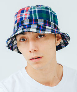 PATCHWORK  BUCKET HAT HEADWEAR XLARGE