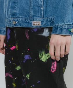 HAND PAINT WORK PANT PANTS XLARGE