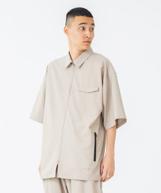 S/S ZIPPED BIG SHIRT SHIRT XLARGE