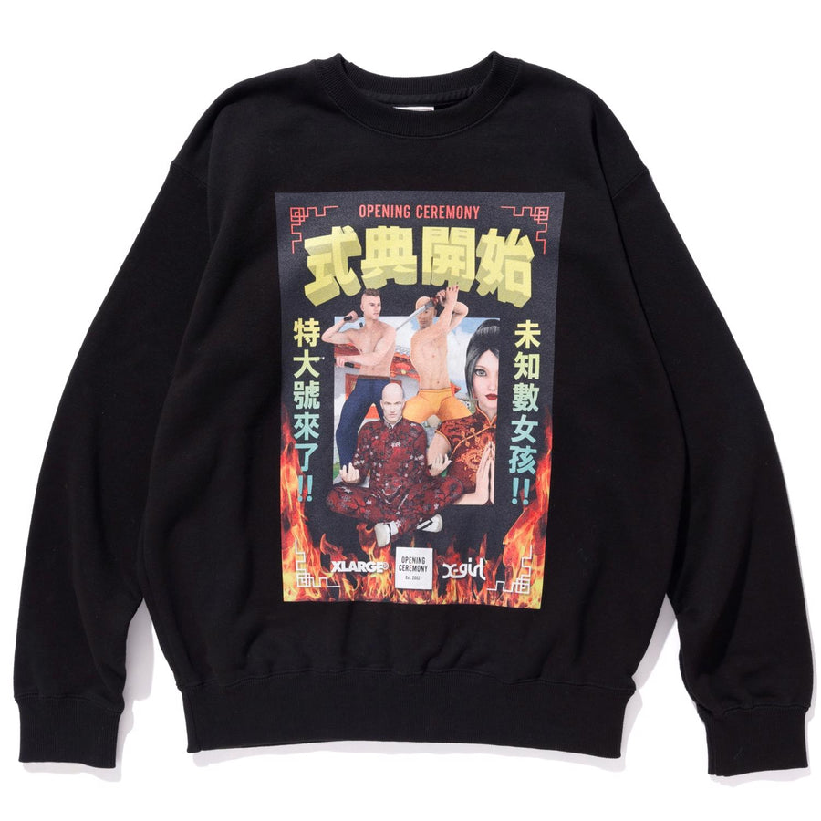 XLxXGxOC CREWNECK SWEAT FLEECE, CREWNECK, HOODIE XLARGE