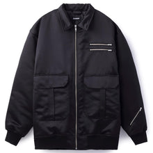 Load image into Gallery viewer, ZIPPED AVIATOR JACKET OUTERWEAR XLARGE
