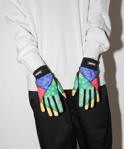 PAISELY WARM GLOVES ACCESSORIES XLARGE