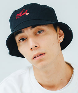 EMBROIDERY BUCKET HAT HEADWEAR XLARGE