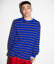 Load image into Gallery viewer, BORDER L/S TEE KNITS XLARGE