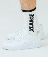 Load image into Gallery viewer, 2TONE LOGO MIDDLE SOCKS ACCESSORIES XLARGE