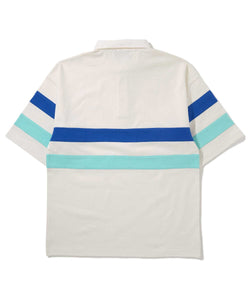S/S LINED RUGBY SHIRT POLO XLARGE