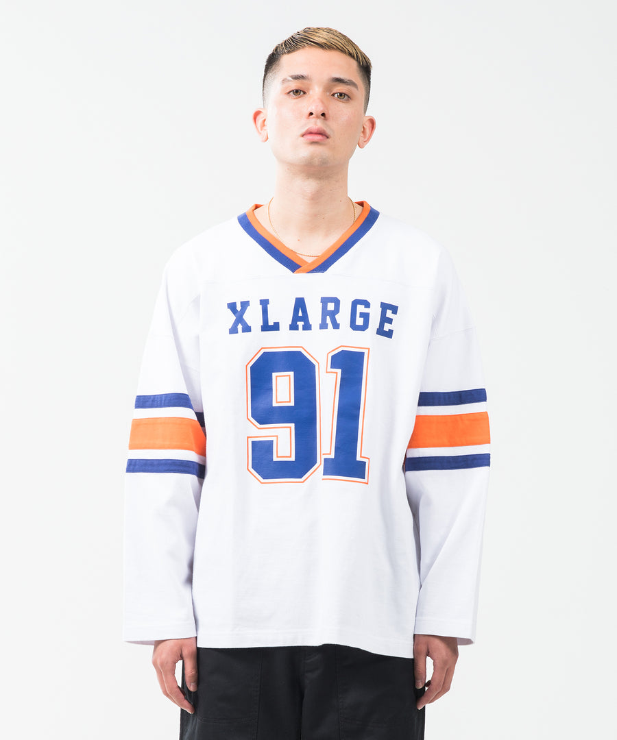L/S WIDE FOOTBALL TEE