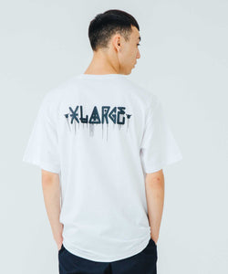 XLARGE x D*FACE S/S TEE D*DOGS FALLING IN GORILLA