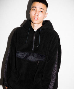 BOA FLEECE PULLOVER JACKET OUTERWEAR XLARGE