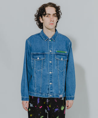 DENIM TRUCKER JACKET OUTERWEAR XLARGE
