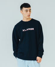 Load image into Gallery viewer, EMBROIDERY GRADATION LOGO CREWNECK SWEAT FLEECE, CREWNECK, HOODIE XLARGE