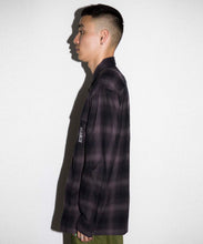Load image into Gallery viewer, HOMBRE PLAID ZIPPED SHIRT SHIRT XLARGE