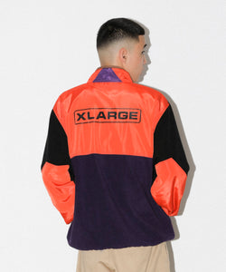 MULTI PANELED ZIP JACKET OUTERWEAR XLARGE