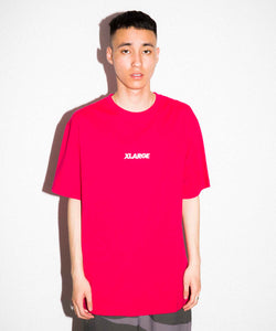 S/S TEE EMBROIDERY STANDARD LOGO 3 T-SHIRT XLARGE