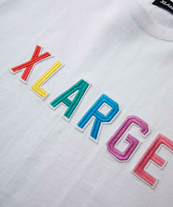 S/S TEE COLOR EMBROIDERY T-SHIRT XLARGE