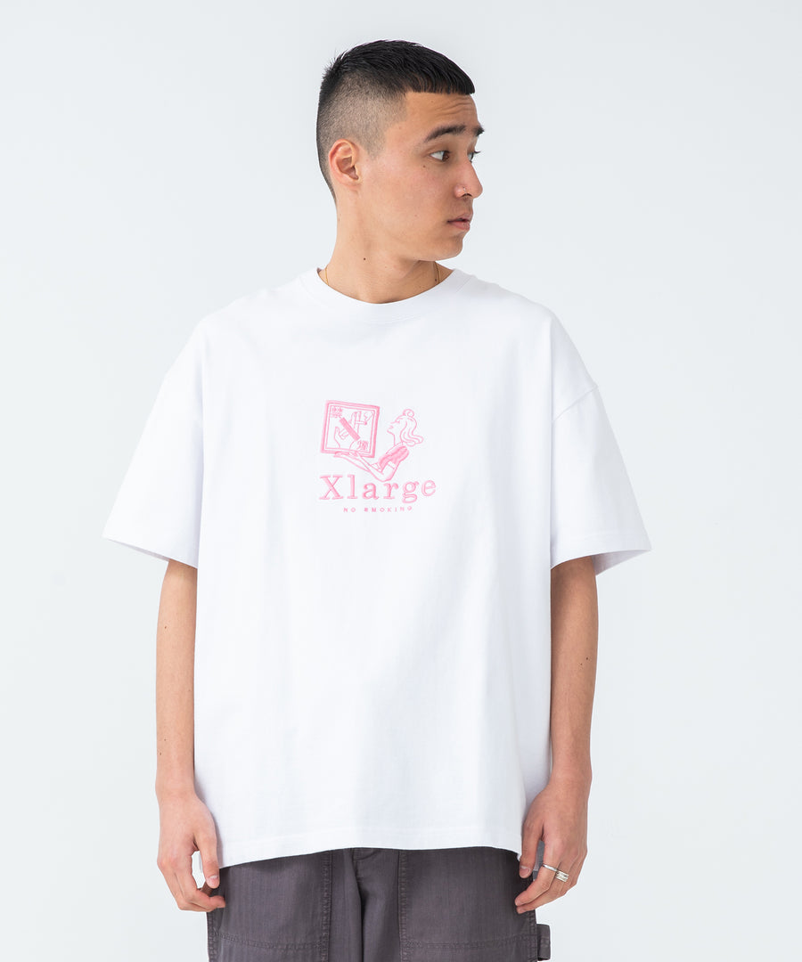 S/S HEAVYWEIGHT TEE NO SMOKING T-SHIRT XLARGE