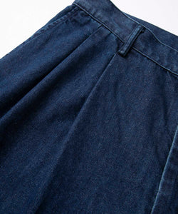 LIGHT DENIM TUCK PANT PANTS XLARGE